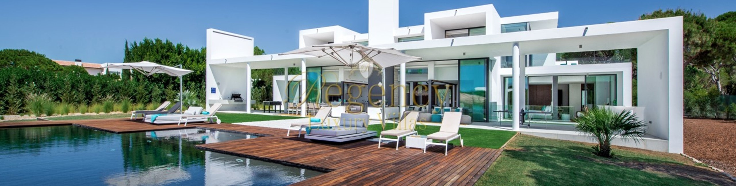 Contemporary 6 Bedrooms Luxury Villa To Rent In The Vilamoura Resort Pinhal Velho Villa Millennium Regency Luxury 1