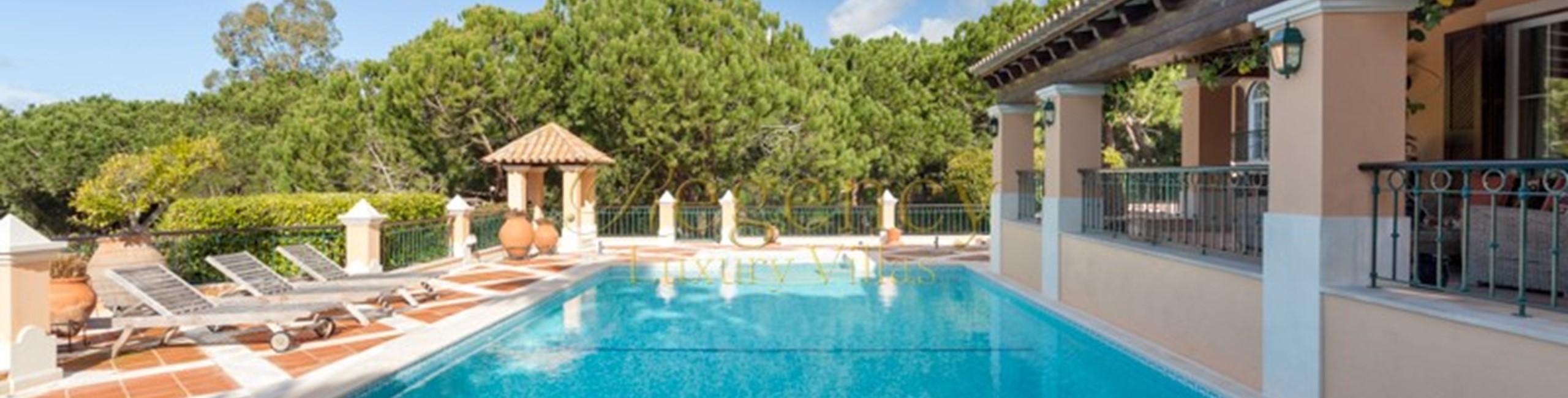 Quinta Do Lago 5 Bedroom Luxury Villa To Rent With Large Gardens Algarve Regency Luxury Villas