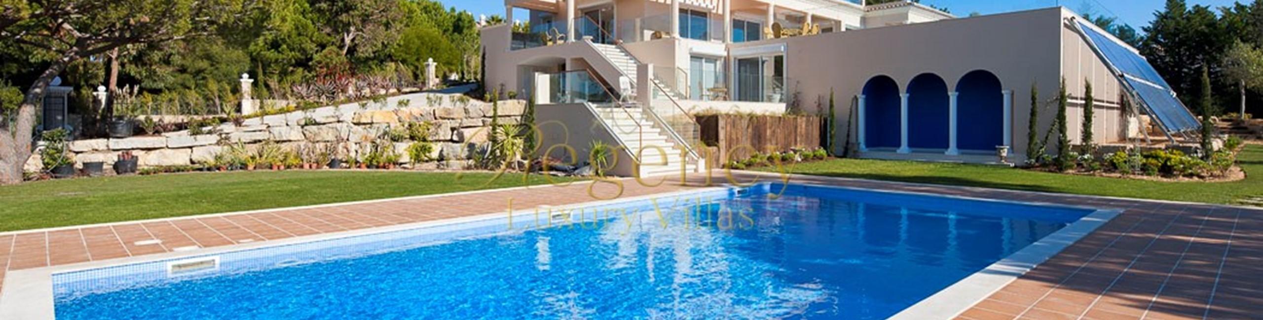 Luxury Elegant Villa With 6 Bed Family Holidays Quinta Do Lago Algarve RLV 1