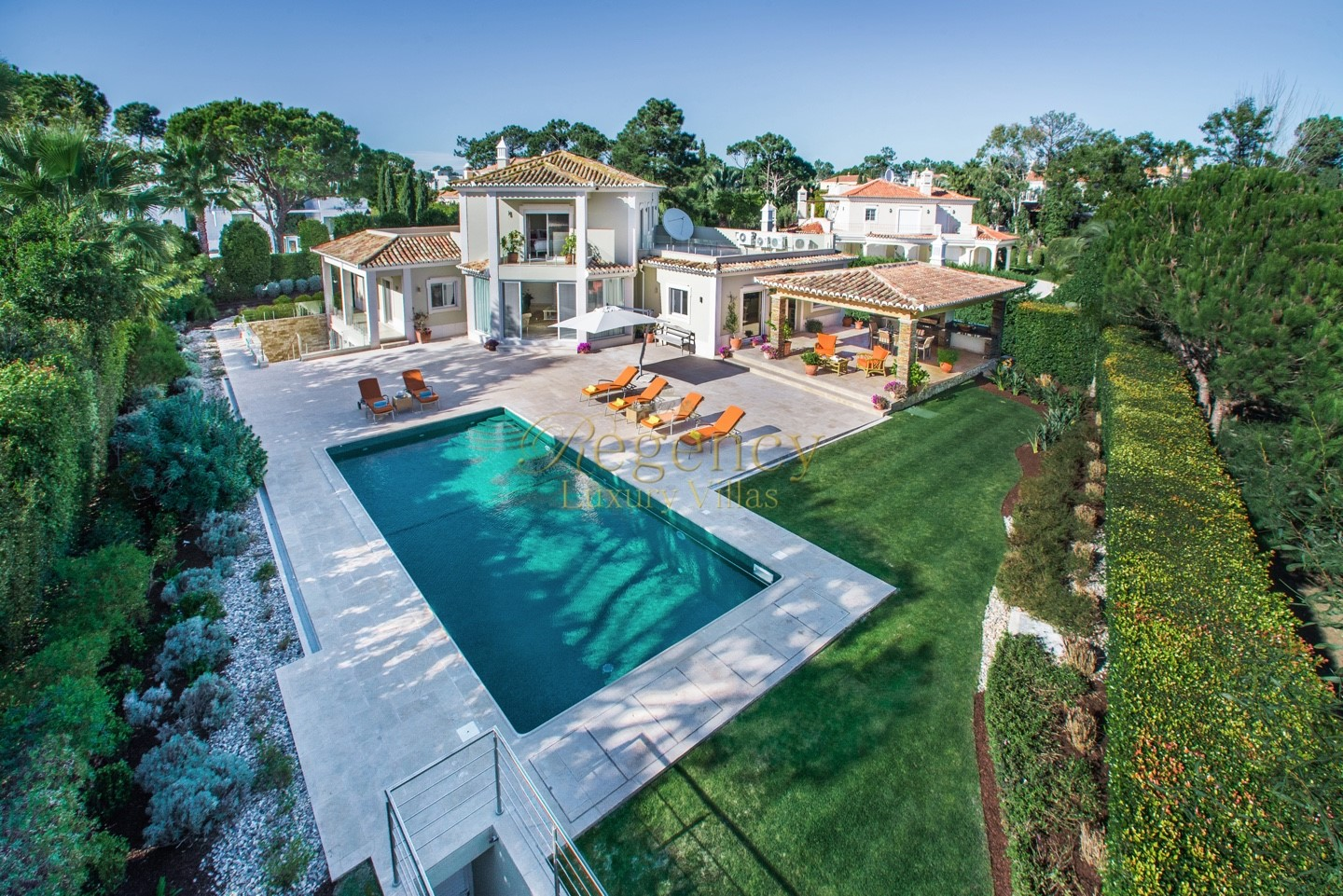 4 Bed Villa To Rent With Golf Views In Quinta Do Lago
