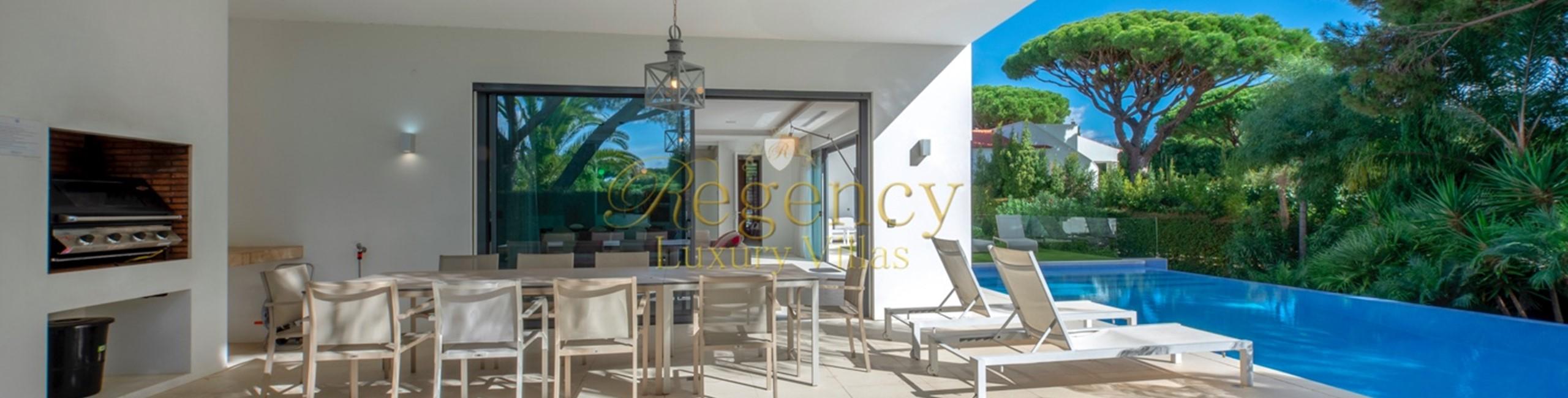 Vale Do Lobo Modern Villa To Rent