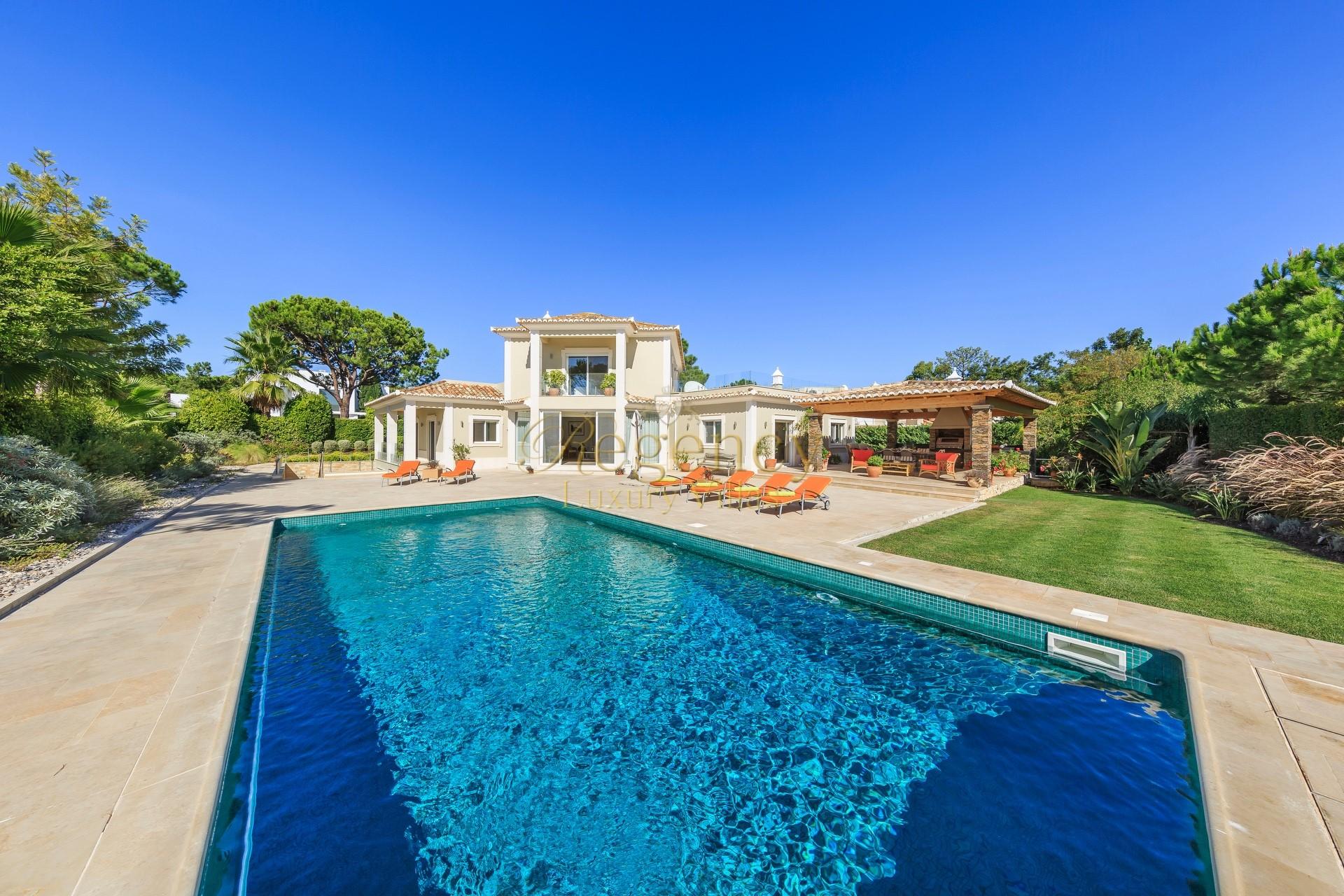 4 Bedroom Luxury Villa To Rent In The Quinta Do Lago Resort Near The Golf Course Games Room Algarve Portugal Villa Eureka Regency Luxury Villas30