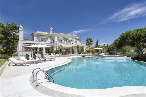 5 Bed Luxury Villa To Rent In Quinta Do Lago With Tennis Court And Private Gym RLV 4